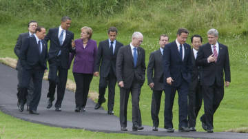 G8 Leaders meeting in Huntsville, Ontario, Canada, June 25, 2010