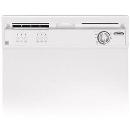 Whirlpool : DU850SWPQ Dishwasher White-on-White