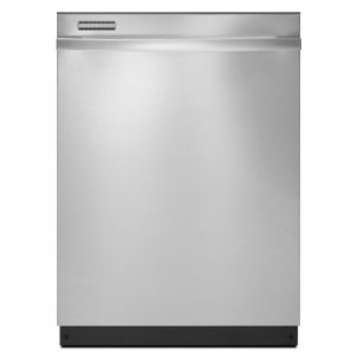Whirlpool : GU2475XTVY 24in Fully Integrated Dishwasher with 6 Automatic Cycles Stainless Steel
