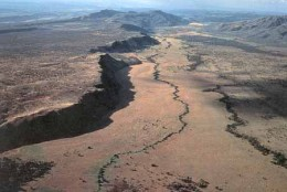 The African rift valley has suddenly sped up, separating by 28 feet after a series of earthquakes since Sept. 2009.