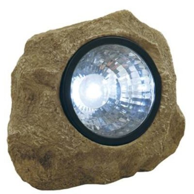 Solar rock lights can light up your night!