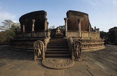 Vatadage Polonnaruwa Sri Lanka
