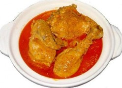 Gulai Ayam or Chicken Curry from Indonesia