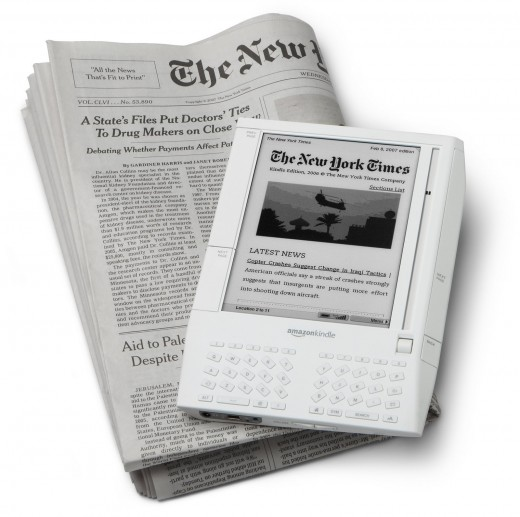 The New York Times in amazon kindle