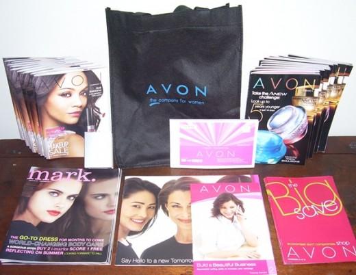Avon basic start up kit