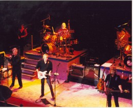 Between 1972 and 1977, the band split up to produce 8 solo albums