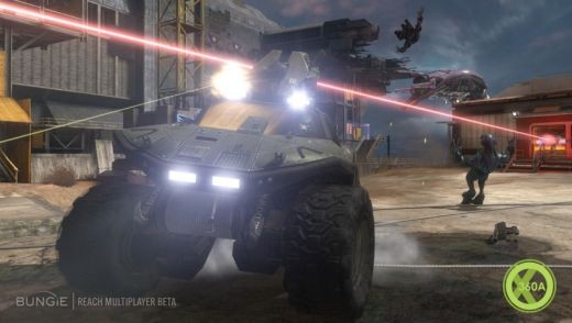 Old vehicles and new appear in Halo Reach