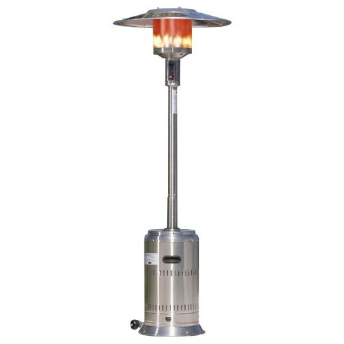 A propane heater makes a great patio heater!