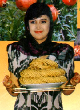 Sangza - fixed for holidays (crispy wheat flour dough twists)