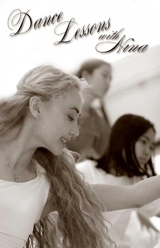 Here is Nina and her dance students copyright Ruth Elayne Kongaika
