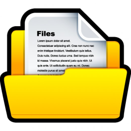 keeping your ideas in files will enable you to remember them