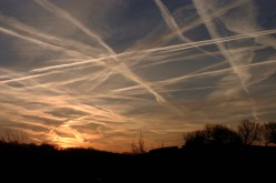 Chemtrails cover our skies.