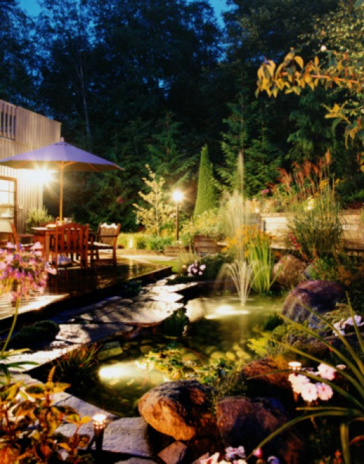 Garden lighting can be a significant investment but can give you a whole new appreciation of your hard work once the sun goes down