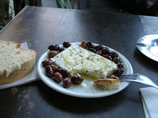 MEZE Or FETA CHEESE APPETIZER