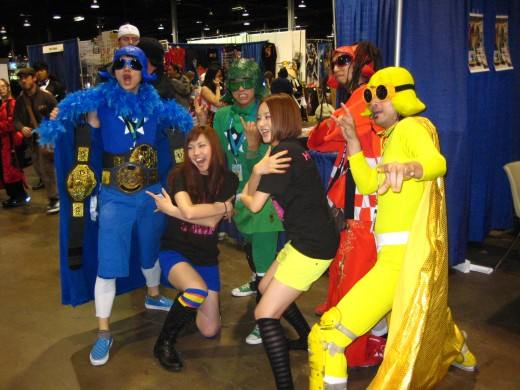 Halcali and Peelander-Z! For the First Time EVA!