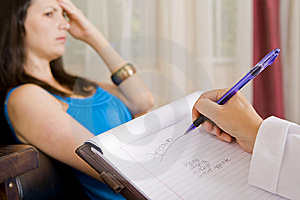 Woman in Therapy  Stephanie Swartz: Dreamstime