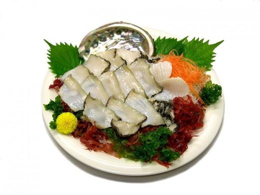 Sashimi from Japan