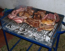 ASADO...Barbecue in ARGENTINA..just like here in the PHILIPPINES