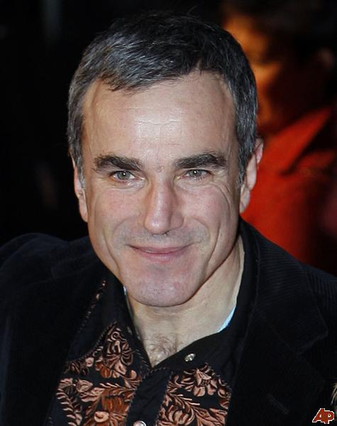 Irish born Daniel Day Lewis