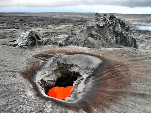 Flaming Holes