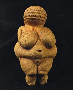 The Venus of Willendorf ( 26 Thousand Years Old )