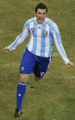 FIFA World Cup Football 2010 - Argentina V/s Mexico.