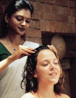 Rosemary oil scalp massage pic