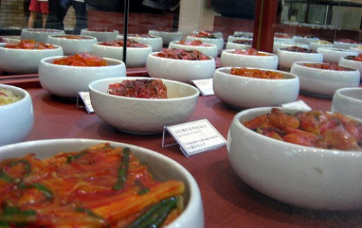 Types of Kimchee, there are more than 80 types.