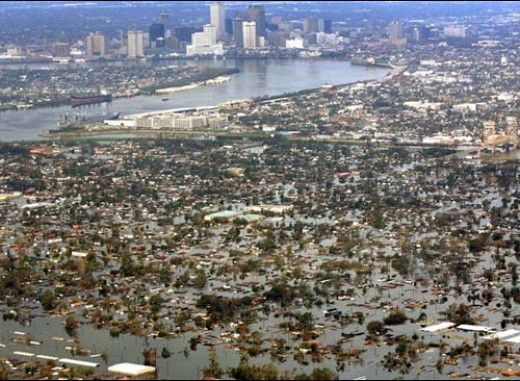 The AFTERMATH of KATRINA Photo courtesy of http://colligan.files.wordpress.com/)
