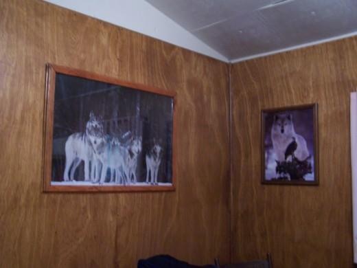 wolf decor