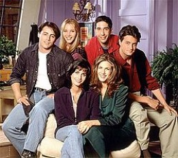the cast of Friends (season 1), photo credit: wikipedia.com
