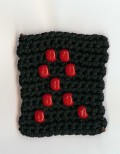 Crochet with Beads Aids Ribbon