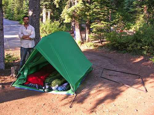 Good example of a two person tent.