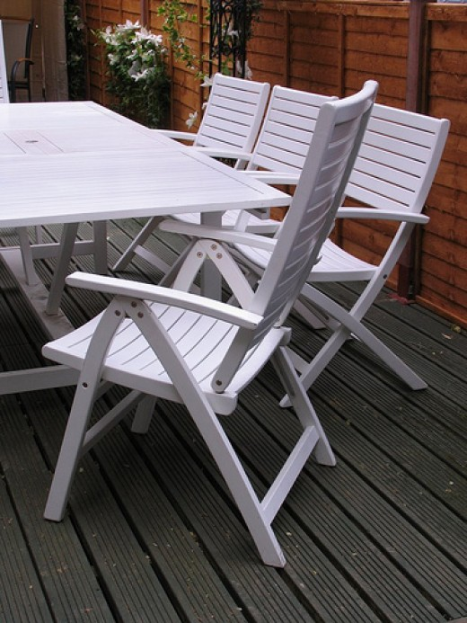 Plastic Garden Furniture.