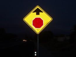 So many signs, so many invitations to exit