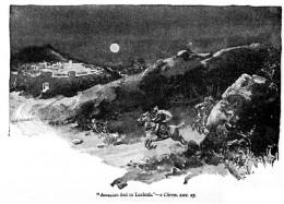 Amaziah fleeing to Lachish