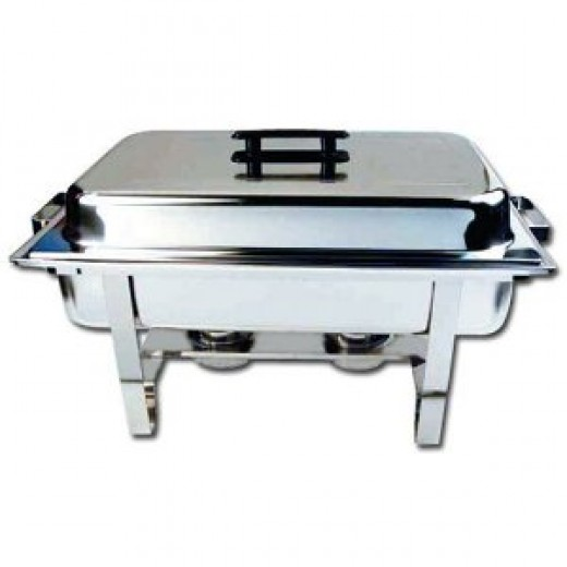 Winware 8 Qt Stainless Steel Chafer, Full Size Chafer