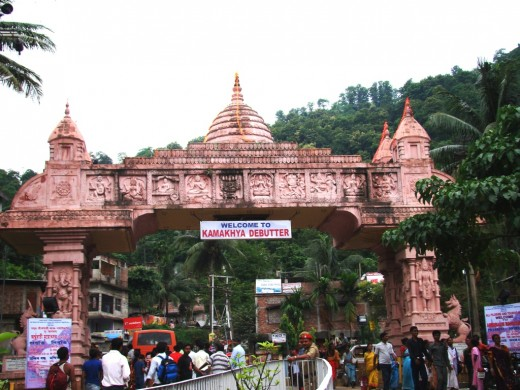 The Gate of Kamakhya temple