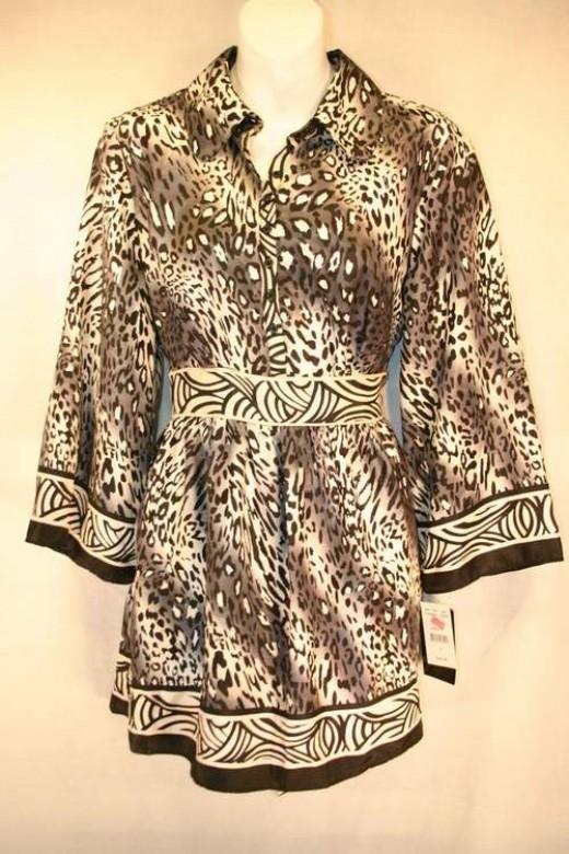 Leopard Print Blouses