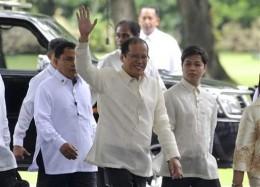 15th Philippine President BENIGNO SIMEON C. AQUINO III before the inauguration at Quirino Grandstand in Luneta (Rizal Park)  Photo Credit: www.blueridgenow.com/