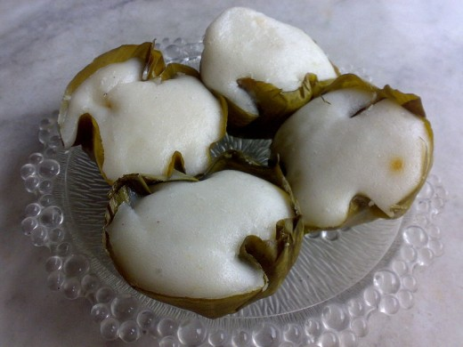 PUTO or RICE CAKES from my country PHILIPPINES