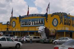 The Big Texan Steak Ranch in Amarillo.