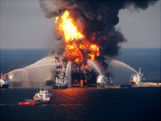 The real Deepwater Horizon.