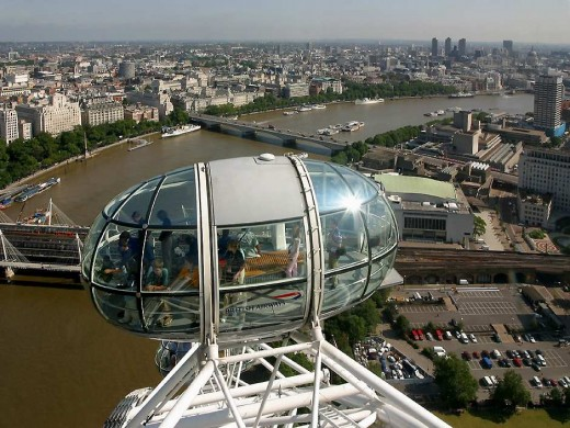 London Eye - Spectacular view