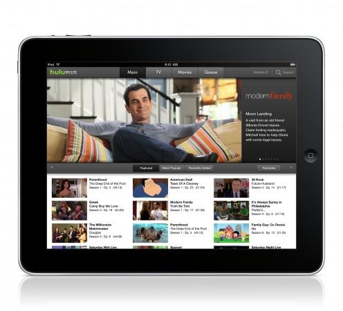 Hulu Plus for the iPad