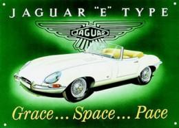 Jaguar XKE (E-Type) Poster