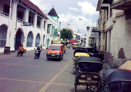 Kota Lama or Old City in Semarang detik.com