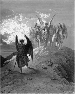 John MiltonsParadise Lost byGustave Dor, 1866.