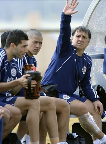 GERARDO MARTINO is one of three Argentine coaches at the 2010 World Cup (AFP Photo)