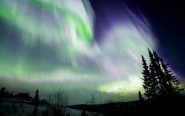 This is some of the evidence of the energy contained in the earth's magnetic field.